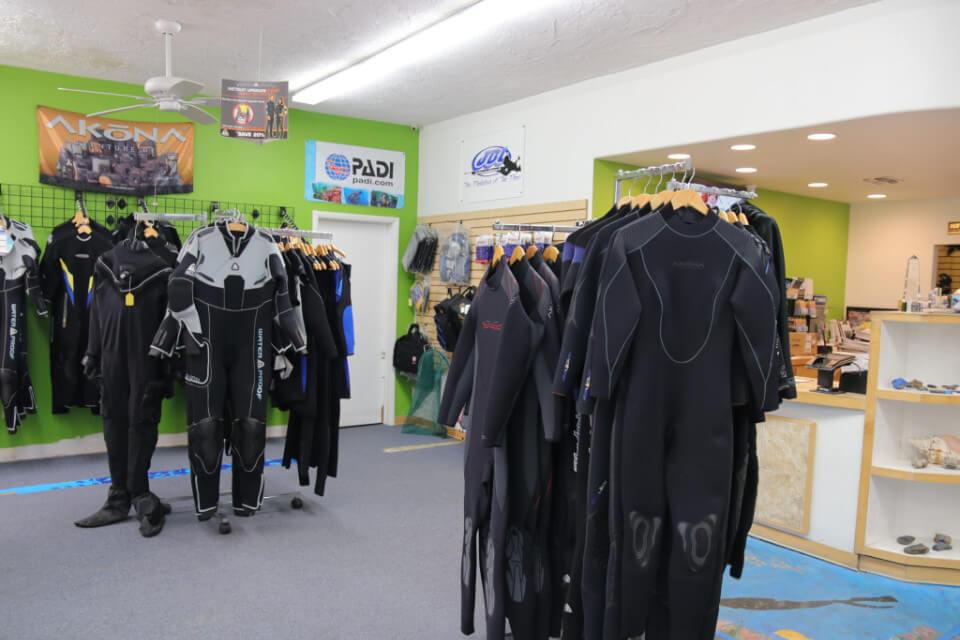 Scuba West Retail Store